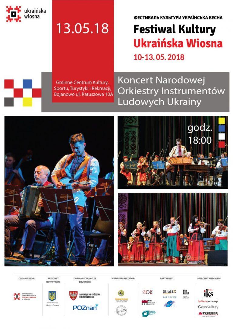 Festiwal Kultury Ukraińska Wiosna 2018.05.10-13
